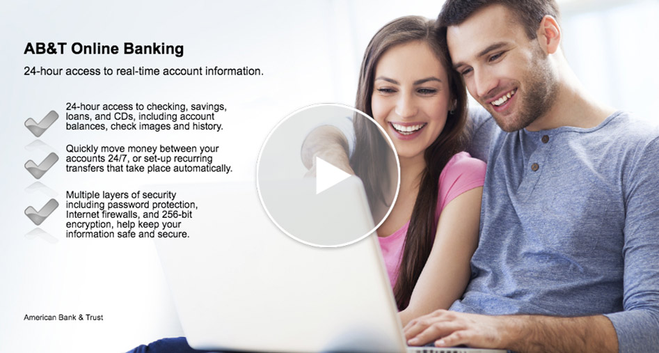 AB&T Online Banking (video will open in new window)