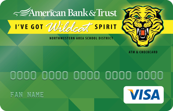 North Western spirit card