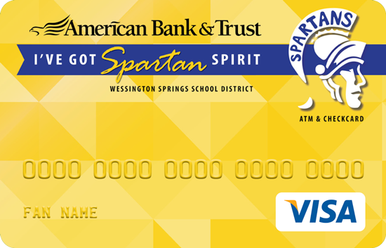 Wessington Springs spirit card